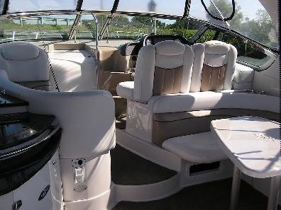 boat interior detail